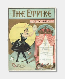 1889 - The Empire Theatre - Varieties