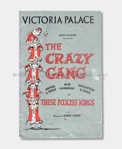 1956 Victoria Palace, Crazy Gang in These Foolish Kings