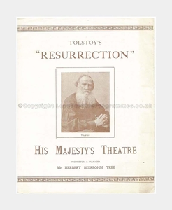 1903 His Majesty's Theatre Mr Herbert Beerbohm Tree