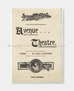 1899 Avenue Theatre The Cuckoo