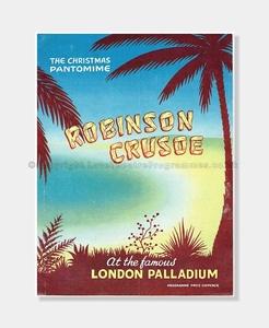 1957 ROBINSON CRUSOE Palladium