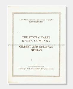 1959 Patience D'Oyly Carte