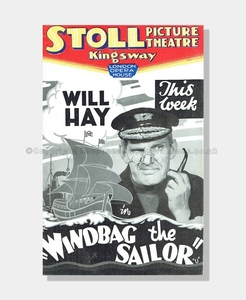 1937 Stoll Theatre Windbag the Sailor