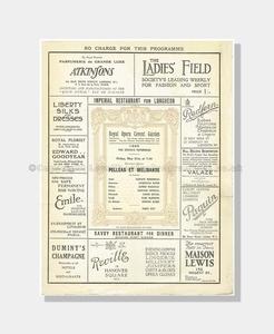 1920 Pelléas et Mélisande Royal Opera Covent Garden