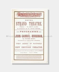 1897 JOHN GABRIEL BORKMAN Royal Strand