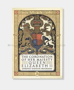 1953 CORONATION OF QUEEN ELIZABETH II