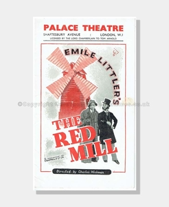 1947 THE RED MILL Palace Theatre