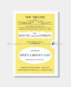 1949 LOVE'S LABOUR'S LOST New Theatre