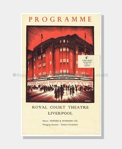 1960 THE LAST JOKE Royal Court Liverpool