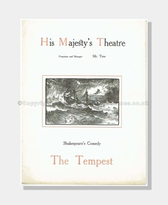 1904 THE TEMPEST His Majesty's Theatre