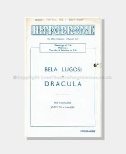 1951 DRACULA Golder's Green