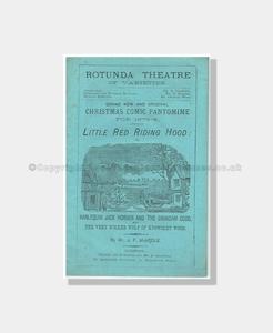 1873 RED RIDING HOOD Rotunda Theatre