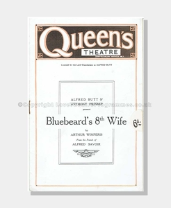 1920, Queen's Theatre, Bluebeard's 8th Wife