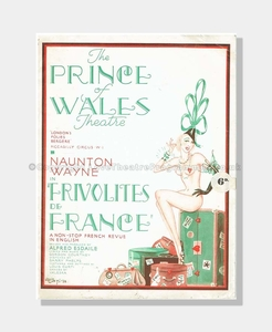 1938 FRIVOLITIES OF FRANCE Prince of Wales