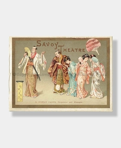 1886 MIKADO Savoy D'Oyly Carte