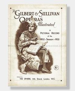 1932-33 D'OYLY CARTE SOUVENIR Gilbert & Sullivan