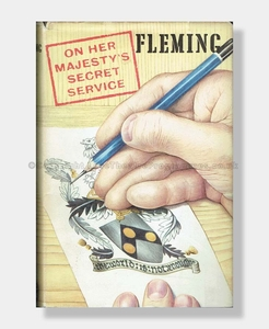 ON HIS MAJESTY'S SECRET SERVICE 1st Edition SIGNED Ian Fleming