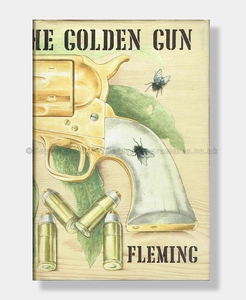 THE MAN WITH THE GOLDEN GUN 1st Edition IAN FLEMING