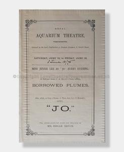 1876 JO Royal Aquarium Theatre, Westminster