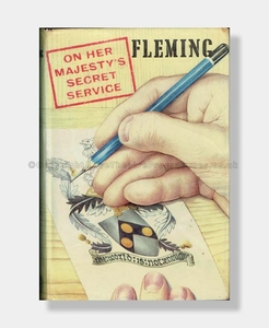 Ian Fleming THE SPY WHO LOVED ME (Quad Mark)