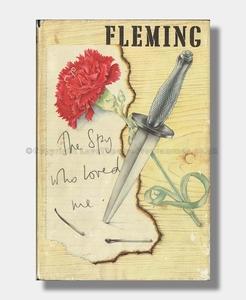 Ian Fleming THE SPY WHO LOVED ME (Quad Mark)