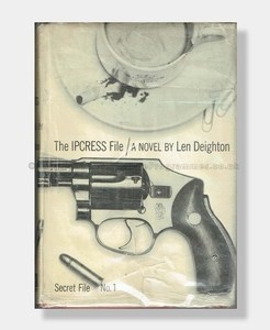 THE IPCRESS FILE Len Deighton 1st Edition 3rd Signed