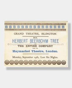 1896 HENRY IV Grand Theatre Islington