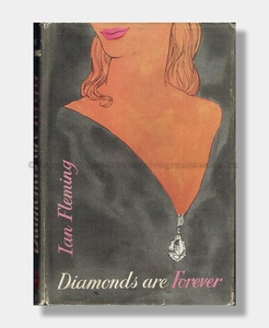 Ian Fleming Diamonds are Forever FIRST EDITION