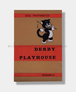 1964 DICK WHITTINGTON Derby Playhouse