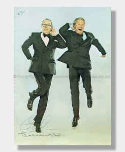 1975 MORECAMBE AND WISE BBC Souvenir