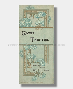 1893 CHARLEY'S AUNT Globe Theatre