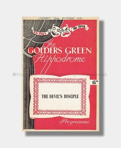 1956 THE DEVIL'S DISCIPLE Golders Green