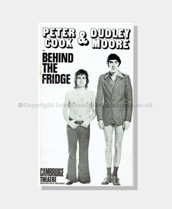 1971 BEHIND THE FRINGE Peter Cook Dudley Moore