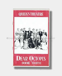1938 DEAR OCTOPUS Queen's Theatre