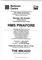 1987 PIRATES OF PENZANCE Barbican Centre