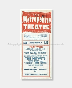 1949 LADIES AND GENTLEMEN Metropolitan Theatre